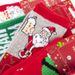 Férfi téli téli zokni-karácsonyi mintákkal