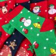 Női téli zokni csomag (5db)-karácsonyi mintákkal