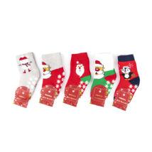 Gyermek karácsonyi zokni csomag (5pár)