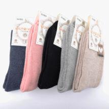 Női téli, hosszú szárú zokni csomag (5pár)