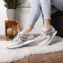 Női mintás sportcipő