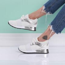Női fehér sportcipő