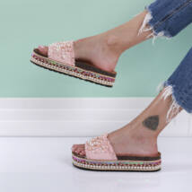 Női gyöngyös ergonomikus papucs