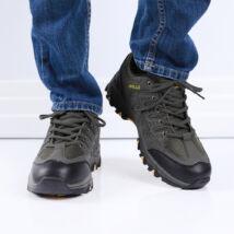 Férfi sötétzöld munkavédelmi cipő
