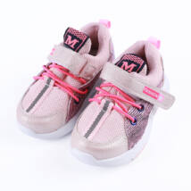 Lányka rózsaszín sportcipő tépőzárral