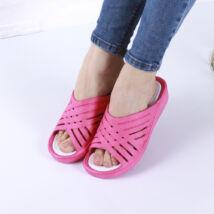 Női rózsaszín gumipapucs