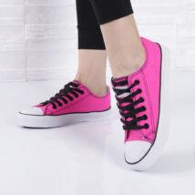 Női fukszia tornacipő