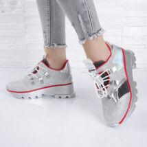 Csillámos női cipő