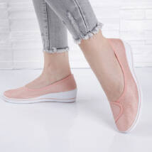 Belebújós női pink utcai cipő