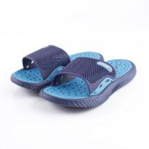 Sportos feliratú fiú kék gumipapucs