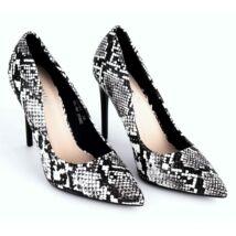 Alkalmi kigyóbőrmintás női cipő jocipom.hu