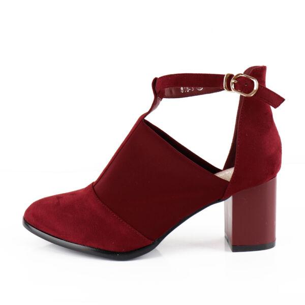 Félzárt alkalmi női cipő