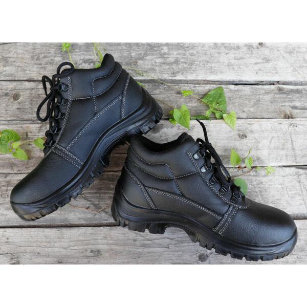 Férfi bokavédős, acélbetétes munkavédelmi cipő(O2)