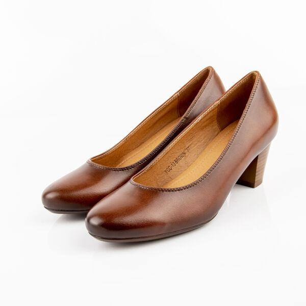 Női barna félcipő