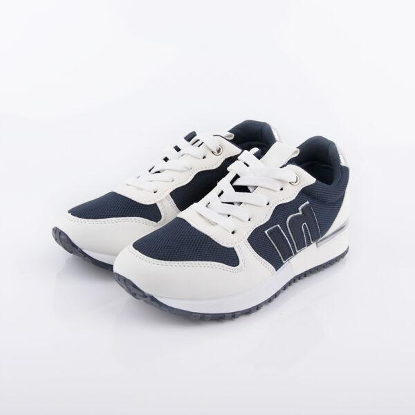 Női fehér-kék sportcipő