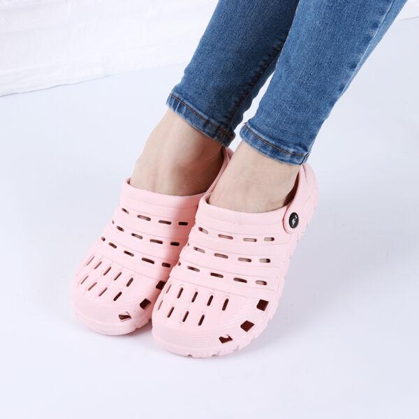 Női rózsaszín gumiklumpa