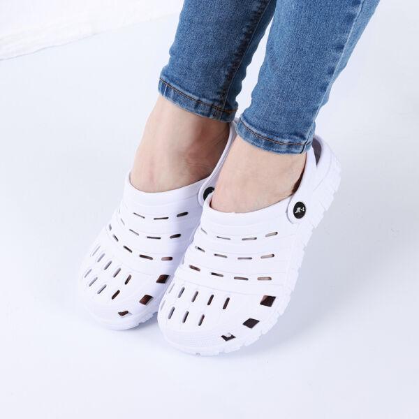 Női fehér gumiklumpa