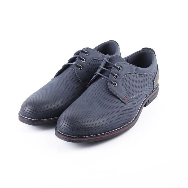 Sötétkék fiú alkalmi cipő