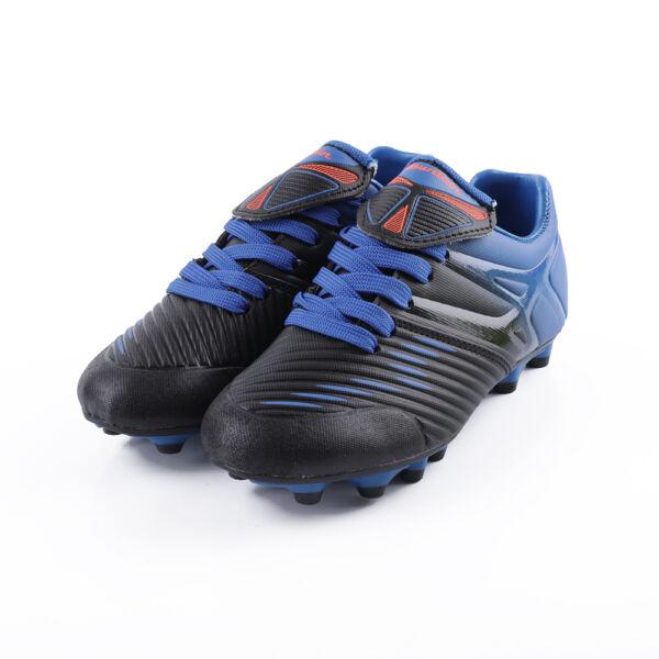 Gyerek fiú fekete-kék stoplis cipő