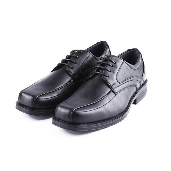 Férfi fekete fűzős alkalmi cipő