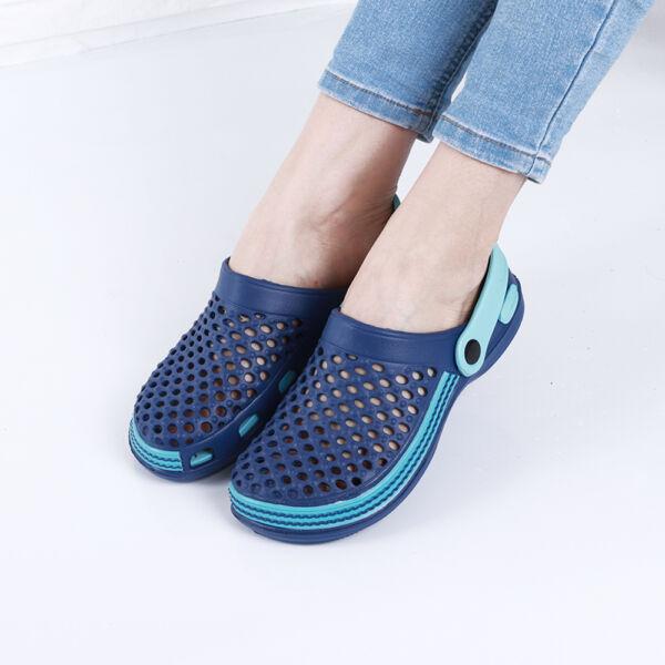 Női kék gumiklumpa
