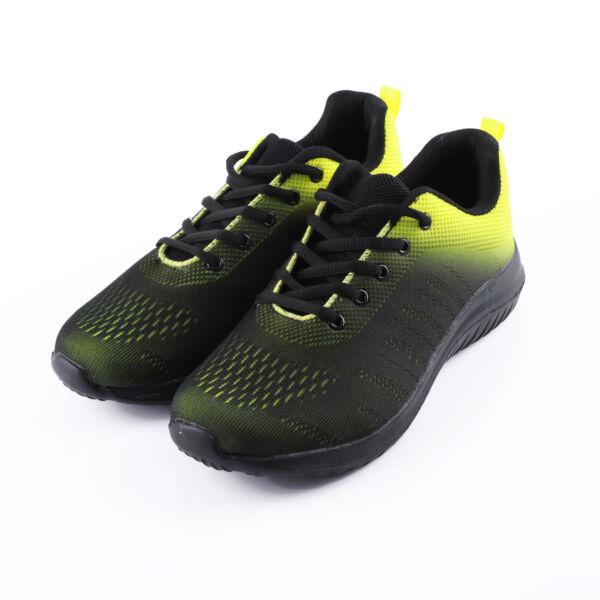 Férfi sárga-fekete sportcipő