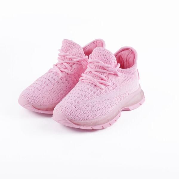 Fűzős pink gyerek zoknicipő