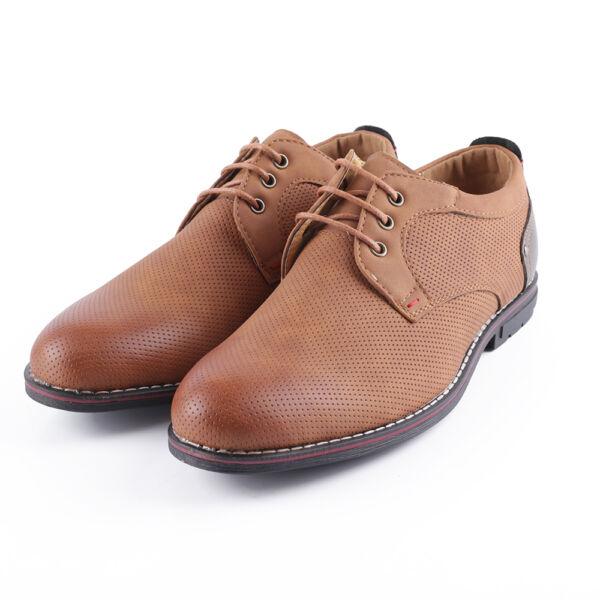 Barna férfi alkalmi cipő